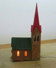 Villiage Church N Gauge, Illuminated