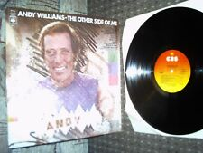 Andy Williams. The Other Side Of Me LP. CBS 69152. 1975. Exc Vinyl.