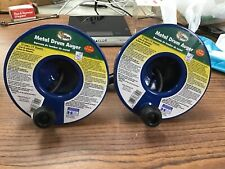 Two Cobra Metal Drum Auger 1/4 15inch Model#83150 (SD6MS)