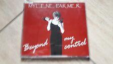 Mylène Farmer CD maxi Europe Beyond my control - Boîtier cristal