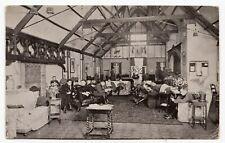 A.E.F. Officers Washington Inn American Y.M.C.A. London England UK WW1 Postcard