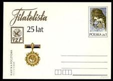 """POLONIA - Intero post. - 1979 - (P771) - 25 ° anniv. della rivista """"Filatelista"""""""