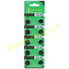 200 Pila Boton Bateria AG 10 AG10,389,LR1130,SR1130,189