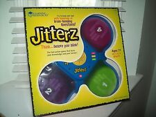 Jitterz Think Before You Blink Game by Learning Resources NEW