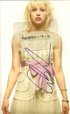 Courtney Love Autograph signed picture