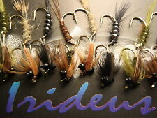 Irideus Articulated Stone Fly Fishing Flies Nymph Trout Flies Steelhead Fly