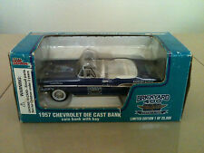 1995 RACING CHAMPIONS 1957 CHEVY BELAIR BRICKYARD 400 DIE CAST 1:24