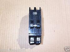 Zinsco Circuit Breaker 15 Amp 2 Pole Qc gte sylvania q215 black/gray