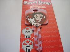 """Betty Boop """"Betty Boop & Pudgy"""" Key Kwikset Kw1 House Key Blank / New"""