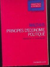 MALTHUS  PRINCIPES D ECONOMIE POLITIQUE