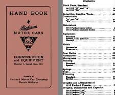 Packard 1912 - Handbook Packard Motor Cars 1912 - Construction & Equipment, No 3