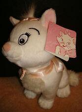 DISNEY STORE Plush Doll ARISTOCAT w/ Tag Soft White Movie Cartoon Toy Figure