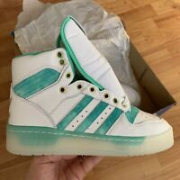 adidas Rivalry Trainers Size UK 6.5 EUR 40 White / Green FV4526 NEW