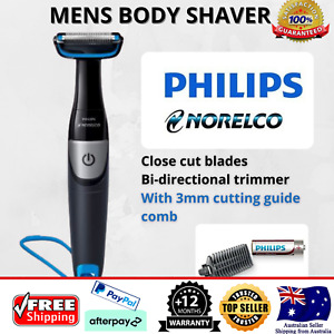 Body Hair Shaver Cordless Portable with Trimmer Attachment Legs Arms Chest Arms