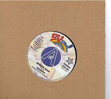 SILVETTI-SPRING RAIN / BATAAN - THE BOTTLE   UK SALSOUL/OUTTASIGHT Limited DEMO