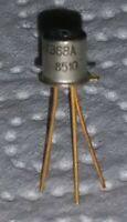 2 Stck. KT368A  KT368 A NPN Transistor udssr NOS