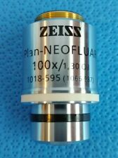Zeiss Plan Neofluar 100x 130 Oil Microscope Objective Infinity017