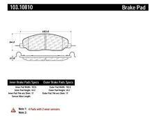 C-TEK Ceramic Brake Pads fits 2005-2009 Ford Mustang  C-TEK BY CENTRIC