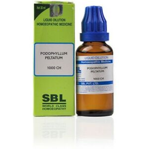 SBL Homeopathy Podophyllum Peltatum (30 ML) (Select Potency)
