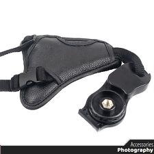 Vintage Hand Grip Soft PU Leather DSLR Camera Wrist Strap Belt - Universal