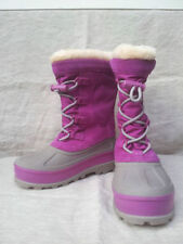 Ugg Australia Bobbey Cactus Flower 3288 Snow Waterproof Boots Kids Size 2~NEW