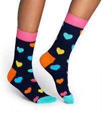 Happy Socks - Socken - blau / bunt - heart, hearts, herzen - 36-40 + 41-46