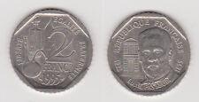 Pièce de 2 Francs Louis Pasteur de 1995