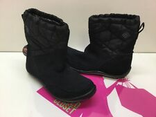 Columbia Women's Minx™ Pull On Omni-Heat™ Winter Boot BL1591-010 Size 5