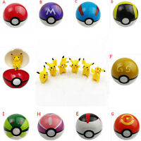 Pokemon Pokeball Pop-up 7cm BOULES Pikachu monstre Cartoon jouet cadeau Rare