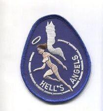 USMC VMFA-321 HELLS ANGELS ANGEL, BLUE STICKER