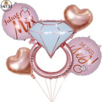 She Said Yes Engagement Bridal Shower Decorations Balloons Hens Kitchen Tea Gold
