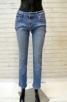 TOMMY HILFIGER Jeans Pantalone Donna Taglia 27 Pants Women's Blu Denim Casual