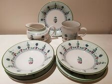 Staffordshire Topiary little breakfast set VGC!