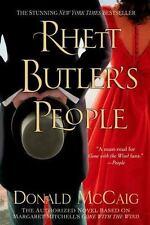 Rhett Butler's People by Donald McCaig (2014, Paperback) LIKE NEW