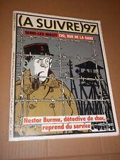 MAGAZINE (A SUIVRE) no 97 (1986) TARDI / FOREST / BOUCQ / F MURR / SCHUITEN...