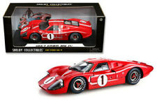 1967 Ford GT40 MKIV #1 Red/White Shelby Collectibles 1:18 Diecast MIB LE