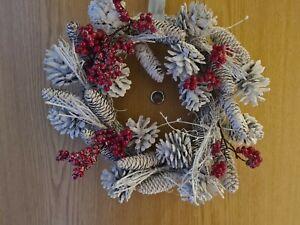 M&S CHRISTMAS WREATH BRAND NEW