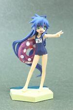 "Lucky Star Konata Izumi Extra Summer Beach Figure  Authentic 7"" SEGA Japan D398"