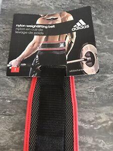 Adidas Weight Lifting Belt Size Large