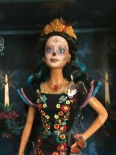 Mattel 2019 Barbie Dia De Muertos Day of the Dead NRFB with Original Shipper