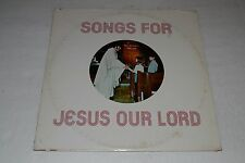Lou Fortunate~Songs For Jesus Our Lord~1971 Private Press~Christian~Xian