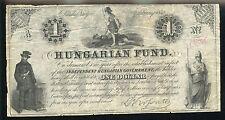 HUNGARIAN FUND 1852 BOND