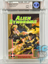 NES - ALIEN SYNDROME - FACTORY SEALED - 9.2 A+ INDIANA COLLECTION - TENGEN 1988