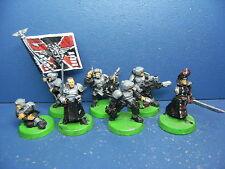 6 hombre mando + comisario de la armada imperial metal