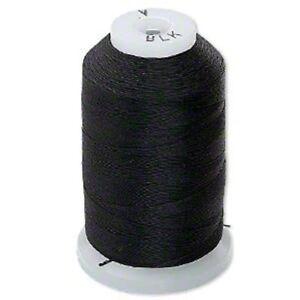 Purely Silk thread Size A  Black  425 yard per spool