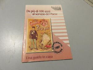POSTE ITALIANE libretto brochure CALENDARIO SERVIZI 1997