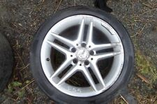 "GENUINE MERCEDES C-CLASS AMG 17"" ALLOY WHEEL AND TYRE 245/40/H17 A2044019702"