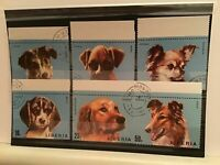 Liberia cancelled dog stamps R21814