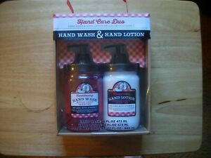 Brand New Apple Crisp Hand Wash & Hand Lotion Care Duo