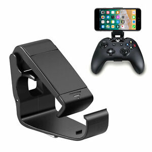 Cell Phone Clip Holder Mount Bracket Game for Xbox One Controller iPhone Samsung